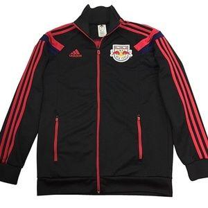Adidas NY Red Bull Soccer Full Zip Track Jacket